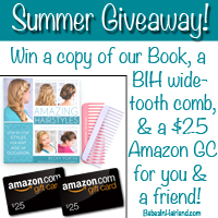 Amazing Hairstyles Book – Summer Giveaway