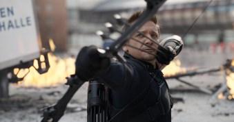 Marvel's Captain America: Civil War..Hawkeye/Clint Barton (Jeremy Renner)..Photo Credit: Film Frame..© Marvel 2016