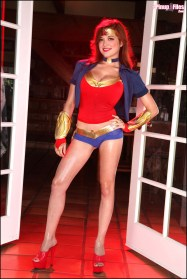 Tessa Fowler as Wonder Woman