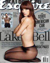 Lake Bell in Esquire by Derek Kettela
