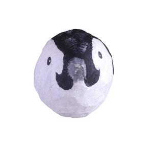 baby pinguin van papiermache