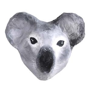 papiermache koala