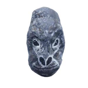 papiermache gorilla wildlife