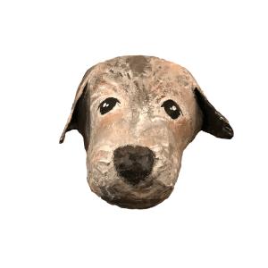 papiermache portret van uw huisdier