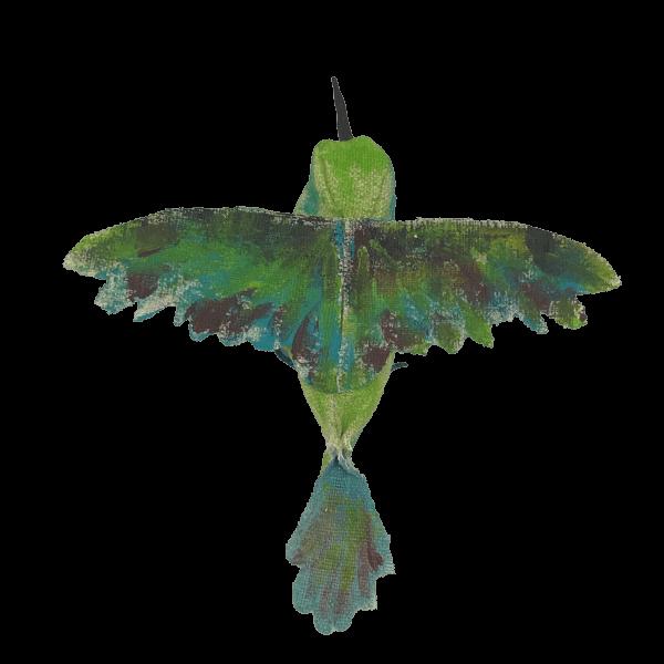 vogel van textiel
