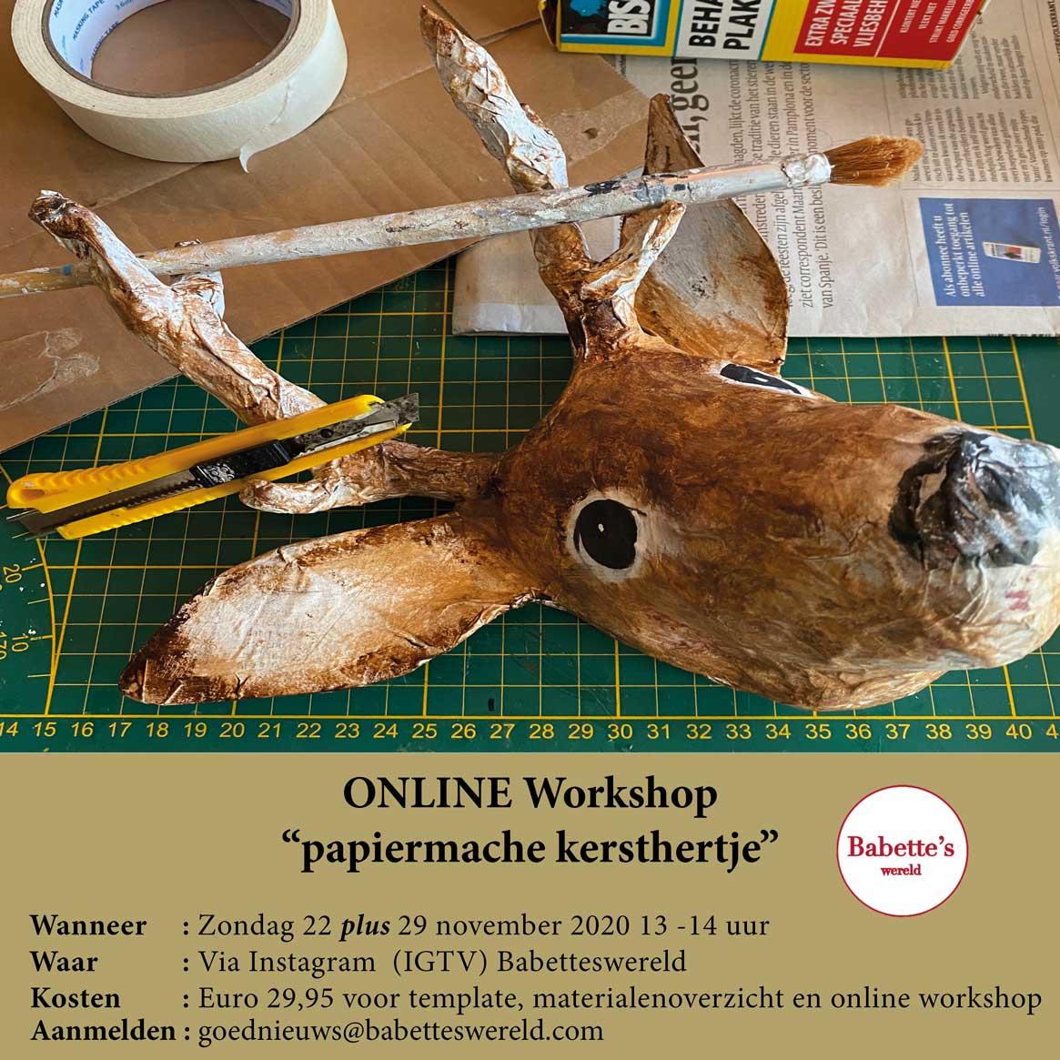 kersthertje workshop