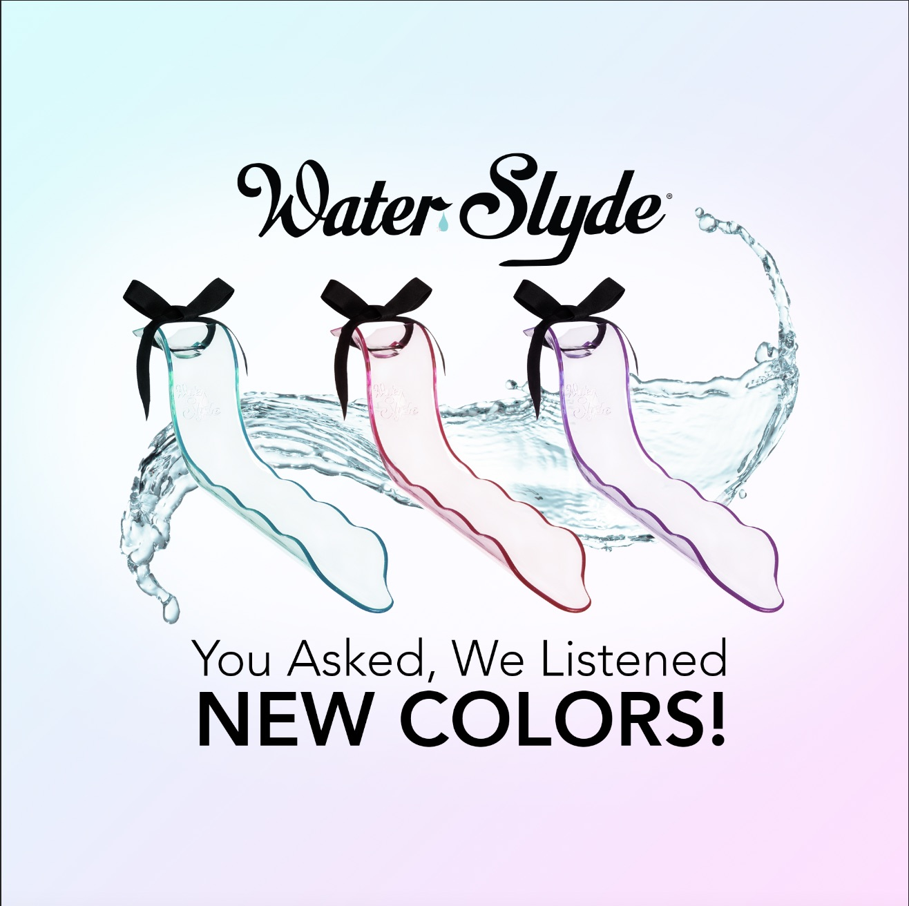 WaterSlyde by Lovability in 3 new colors