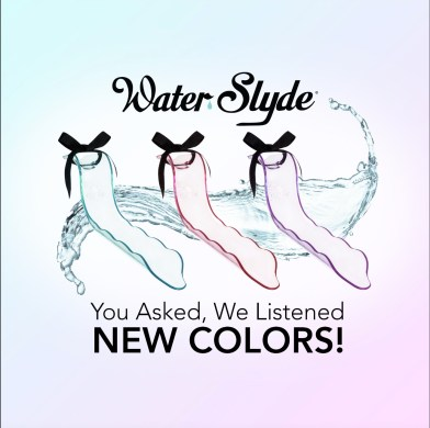 The WaterSlyde by Lovability available in 3 new colors