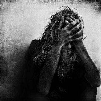Lee Jeffries: black-and-white portraits