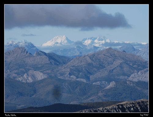 Peña Ubiña desde el Pico del Fraile. Vidal Rioja Bertrand
