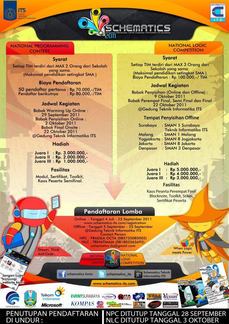 Poster NLC NPC Schematics2011