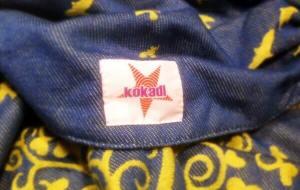 "kokadi-Logo auf ""Ben im Wunderland"""