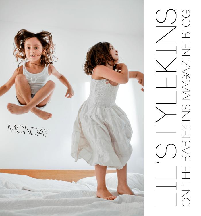 Alma and Nogah's Lil' Stylekins street-style feature on the Babiekins Magazine blog