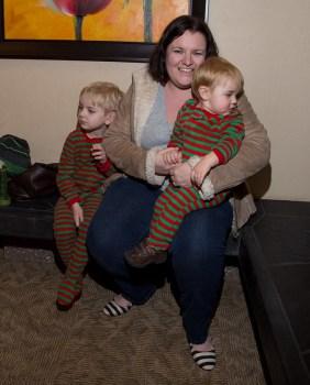 Matching PJs!