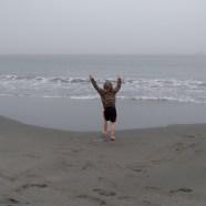 First ocean visit!