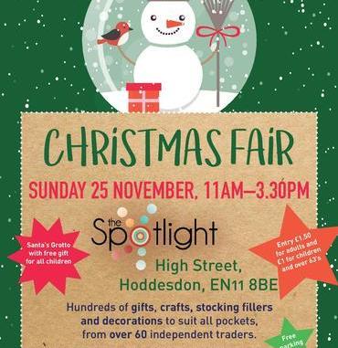 Christmas Fair Hoddesdon Spotlight