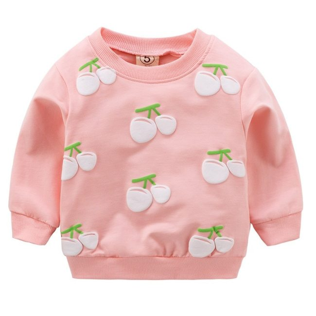 Baby Girls T shirts For 0 2 Years Newborn Kids Shirt Cotton Baby Boys Clothes Autumn 2