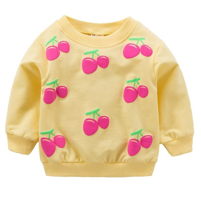 Baby Girls T shirts For 0 2 Years Newborn Kids Shirt Cotton Baby Boys Clothes Autumn 3