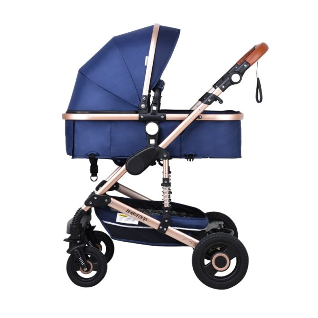 Babyfond stroller High landscape Baby Stroller 3 in 1 with Car Seat Folding Baby Carriage for 4