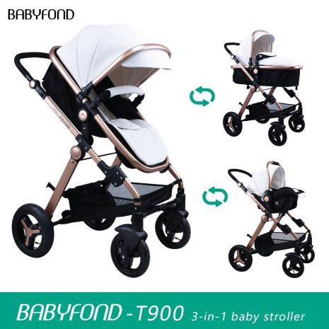 Normal ship 3 in 1 baby strollers and sleeping basket newborn 2 in 1 baby stroller 3