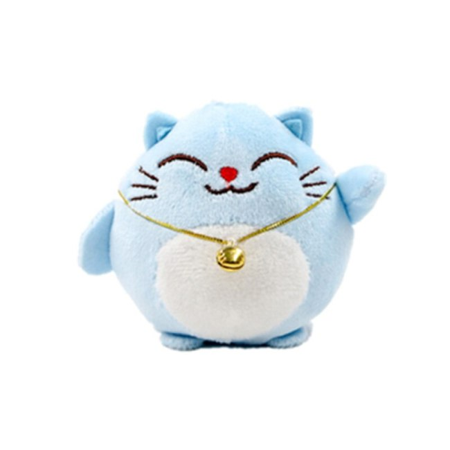Sweet CAT 10CM Keychain Plush Stuffed TOY DOLL key chain Wedding Bouquet TOY Gift DOLL 1