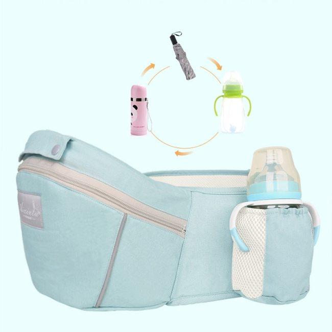 Original Ergonomic Baby Carrier New Born Kids Infant Hipseat Front Facing Kangaroo Sling Wrap for Baby 4