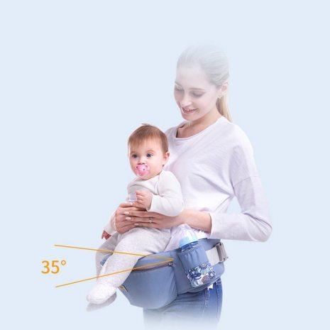 0 48M Ergonomic Baby Carrier 15 Using Way Infant Baby Hipseat Carrier Front Facing Ergonomic Kangaroo 4