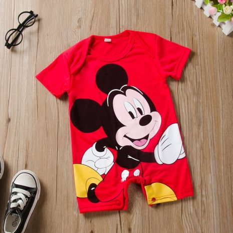 Newborn Mickey Baby Rompers Disney Baby Girl Clothes Boy Clothing Roupas Bebe Infant Jumpsuits Outfits Minnie