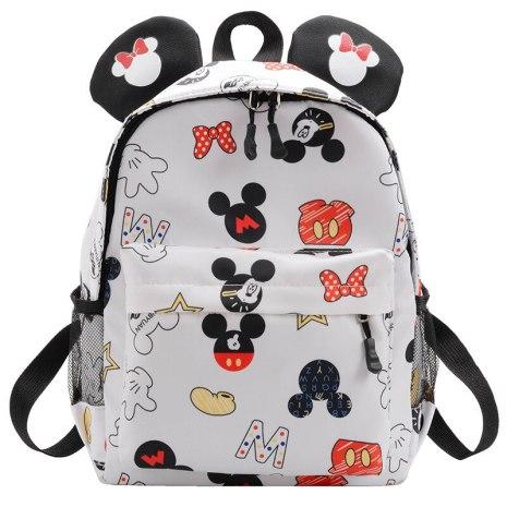 Disney Cartoon Schoolbag Mickey Children Backpacks kindergarten Schoolbag Fashion School Bags Baby Girls Boys Backpacks 2