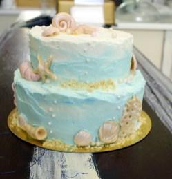 tort ślubny ,kremowany, babkarnia