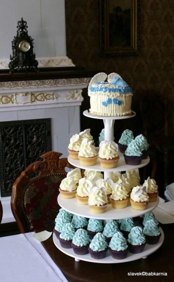 tort na komunię/ chrzest, babkarnia