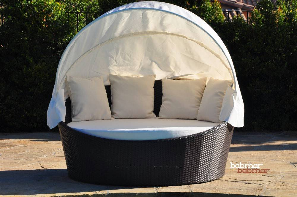 Outdoor Daybed With Canopy Commercial Outdoor Furntiure Hotel Outdoor Furniture