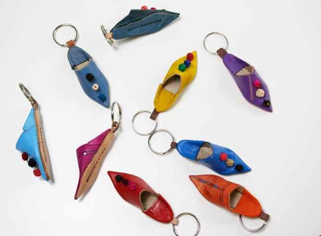 Anhäger, Babouche, Schlüsselanhänger