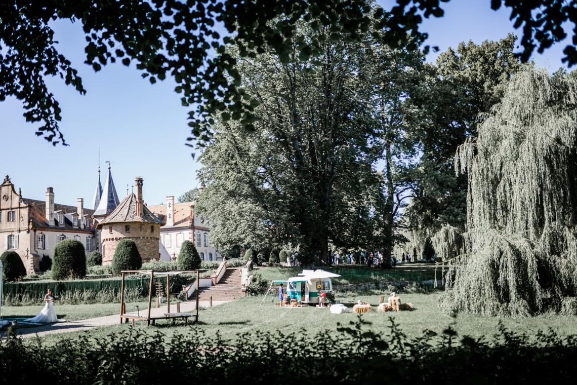 Mariage Boheme au Chateau d'Osthoffen