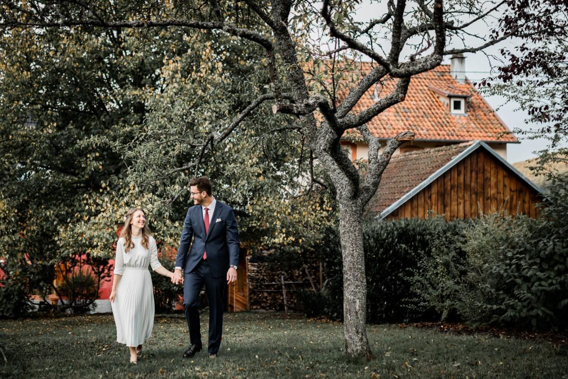 Mariage au jardin – Alsace