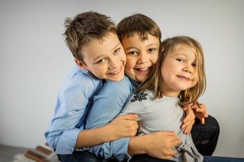 Portraits d'enfants à Noël – Alsace Babouchkatelier
