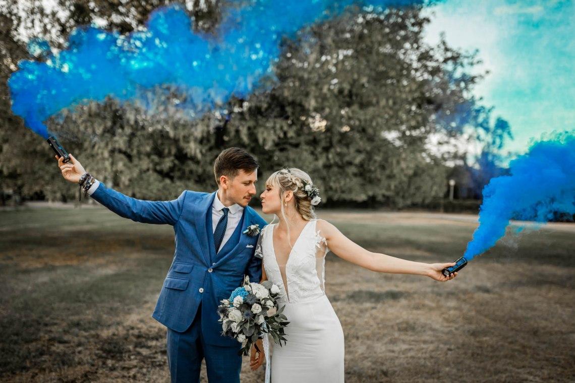 Mariage Bluebirds - Cour de Honau