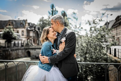 Mariage à Strasbourg en Cargo Bike