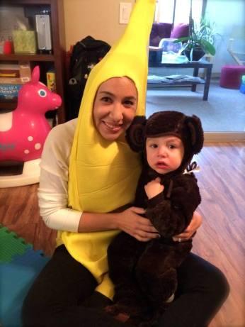 Mama Banana & Her Monkey
