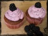 Brombeer Cupcake