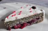 Mohn Kirsch Torte