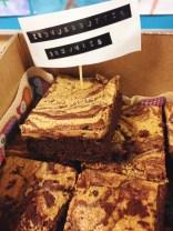 Erdnussbutter Brownies