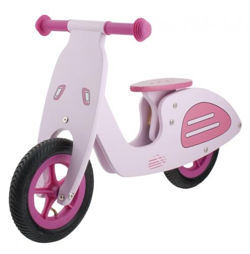 Kids Club Loopfiets Vespa 10 Inch Meisjes Roze
