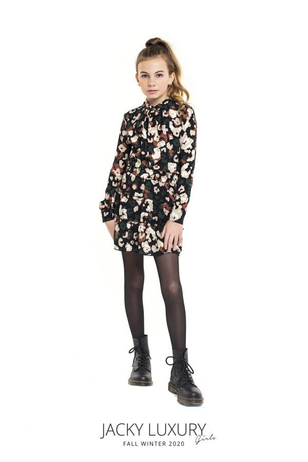 Jacky Luxury Meisjes top - Leopard Multi