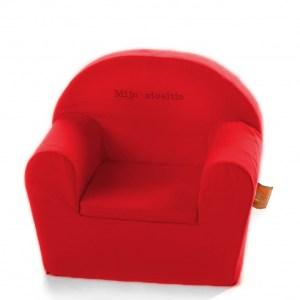 Losse hoes Kinderfauteuil (= zonder schuimvorm) - Rood