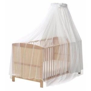 Babykamer anti-muggen klamboe wit