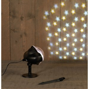Verlichting sterren projector inclusief afstandsbediening