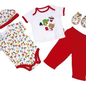 Fisher-Price babykleding in Giftbox 5-delig