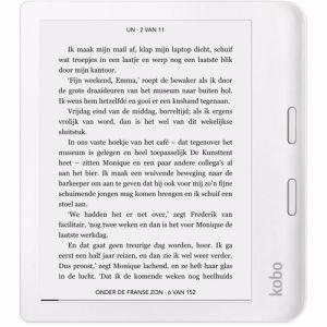 Kobo e-reader Libra 2 (Wit)