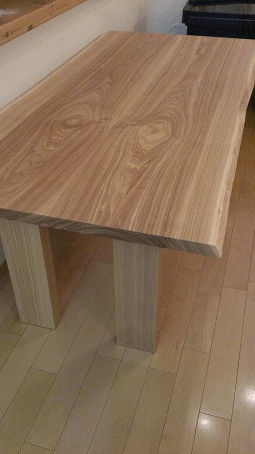 家具蔵のダイニングテーブルが届いたヽ(=´▽`=)ノ